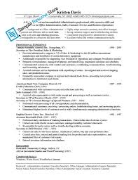 resume sles for executive assistant jobs jobtion resume administrative assistant administration cv intended