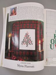 leisure arts magazine cross stitch magazine christmas cross