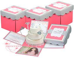 quinceanera invitations quinceanera exploding box invitation sample jinkys crafts