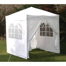 white gazebo airwave皰 original 2x2m white waterproof pop up gazebo with sides