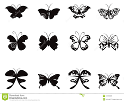butterfly pattern vector royalty free stock images image 24783839