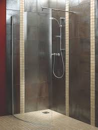 aquadry walk in shower screen w 1050mm departments diy at b u0026q