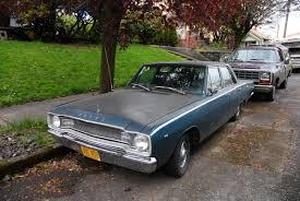 1967 dodge dart 4 door parked cars 1967 dodge dart 270