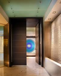 decoration cool and fancy entry doors design with strong wooden
