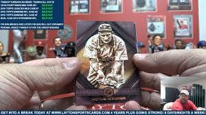 2016 topps legacies of baseball box for f