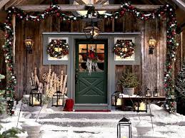 Home Christmas Decorations Pinterest Outstanding Porch Christmas Decorating Ideas Photo Decoration