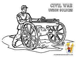 civil war coloring pages kids coloring pages