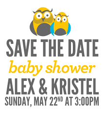 save the date baby shower miami baby shower save the date kristel acevedo
