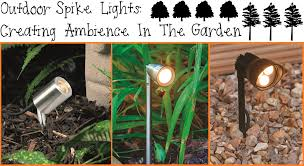 Outdoor Garden Spike Lights Outdoor Lighting Garden Spike Lights For Added Ambience