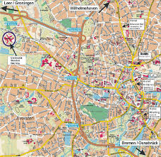 Koblenz Germany Map by Large Oldenburg Maps For Free Download And Print High Resolution