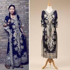 aliexpress com buy 2017 beach dress kaftan ethnic rayon maxi