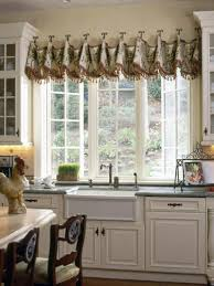 kitchen style kitchen accessories valances window treatments