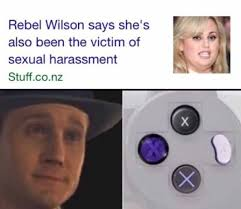 Sexual Harrassment Meme - dopl3r com memes rebel wilson says shes also been the victim of