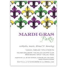 fleur de lis mardi gras mardi gras fleur de lis invitations paperstyle