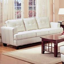 living room futon full size faux leather cheap with mattress