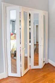 Lowes Louvered Closet Doors Bathroom Mirrored Closet Doors Bifold Mirrored Bifold Closet