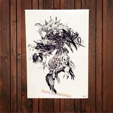 Tattoo Home Decor Online Get Cheap Home Wall Tattoo Flower Aliexpress Com Alibaba