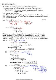 solving radical equations worksheet algebra 2