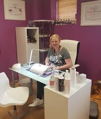 Nail Tech Desk by Meet Anna Gel Nail Technician 0894539130 Salon Glow