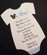 customized baby items baby shower mickey mouse greeting cards invitations ebay