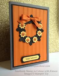stampin up halloween stamps stampin up all occasion wreaths using petite petals