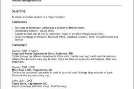 skills for a cashier resume resume for cashier duties cashier
