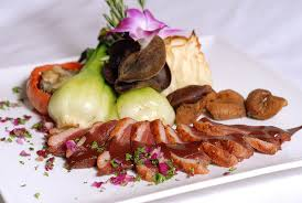 cuisine gastronomique menu gastronomique seigneurie du triton