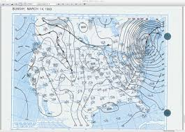 United States Storm Map by 20 Year Anniversary Of The March 1993 U201cstorm Of The Century