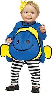 Sully Halloween Costume Infant Uhc Plush Baby U0027s Blue Fish Fancy Dress Infant Child