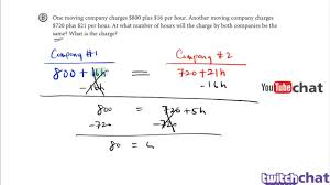 algebra basics creating and solving equations with variables on both sides