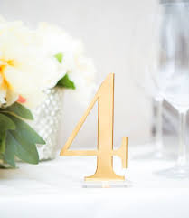 silver wedding table numbers table numbers for wedding party or event gold or silver wedding