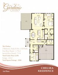 floor plans the gardens at rhinebeck luxury condos print chelsea 1st floor plan