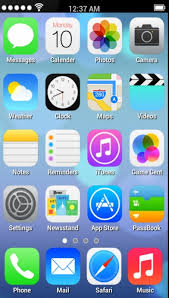 ios launcher apk iphone 5s launcher v1 2 for android