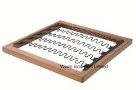 ressort canapé couvercle capot meubles canapé ressort en zigzag acier matériau