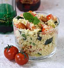 recette cuisine couscous taboulé épicé aux courgettes et tomates les meilleures recettes