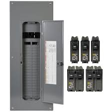 square d homeline 200 40 space 80 circuit indoor breaker