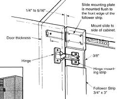 cabinet pocket door slides door slide ball bearing set of two 18 l d77018 zp a