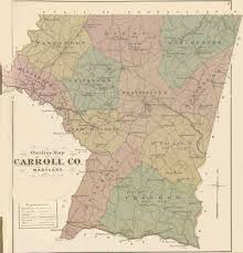 State Of Maryland Map by Carroll Co An Illustrated Atlas Of Carroll County Maryland