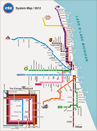 Chicago City Train Map by Chicago Transit Map Free Printable Maps