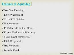 low voc laminate wood flooring services by aquastep