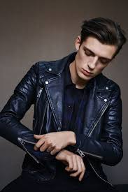 mens black biker style boots how to wear a black leather biker jacket with a black crew neck t