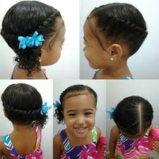 hair dos for biracial children mixed girls hairstyles flat twist into a side pony tail cute kids