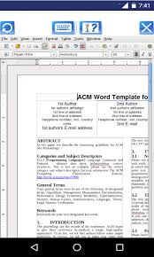 openoffice for android free androwriter document editor with openoffice writer apk