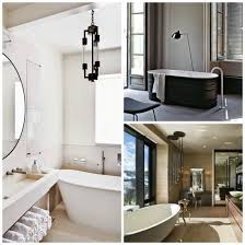 artistic modern black bathroom accents lamps plus at fixtures