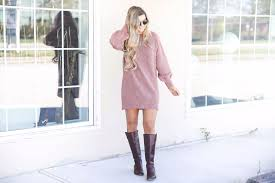 perfect casual sweater dress ootd daily dose of charm