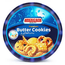 buy americana premium butter cookies tin blue 454 g توصيل