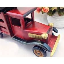 cheap handmade wooden home decoration truck vintage car wine