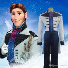 Elsa Halloween Costume Adults 2017 Frozen Halloween Costumes Men Snow Elsa Anna Prince Hans