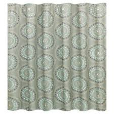 Gray And Turquoise Curtains Medallion Shower Curtain Gray Turquoise Room Essentials Target