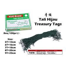 treasury tags 7475 kijo treasury tags 9t
